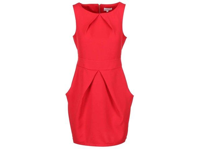 Červené pouzdrové šaty Apricot