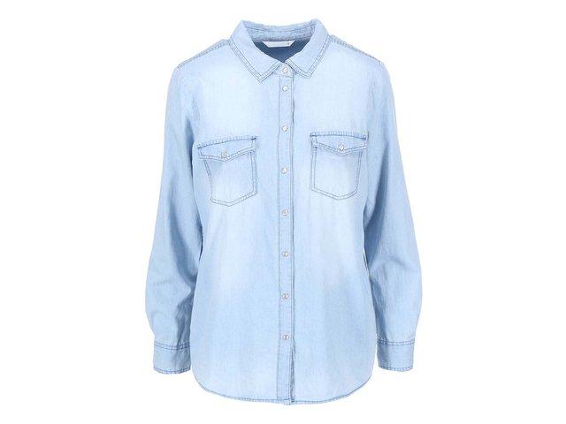 Světle modrá denimová košile ONLY Always