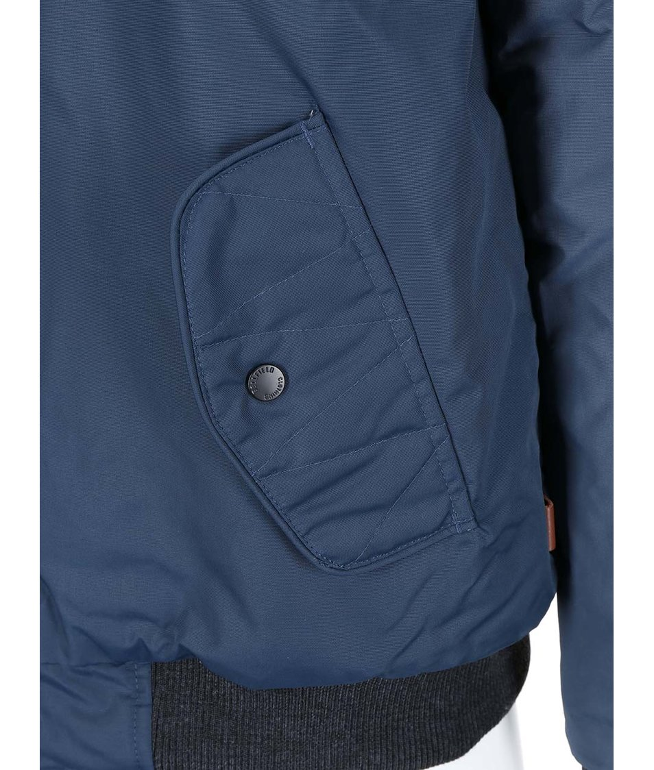 Tmavě modrá pánská bunda Bellfield System