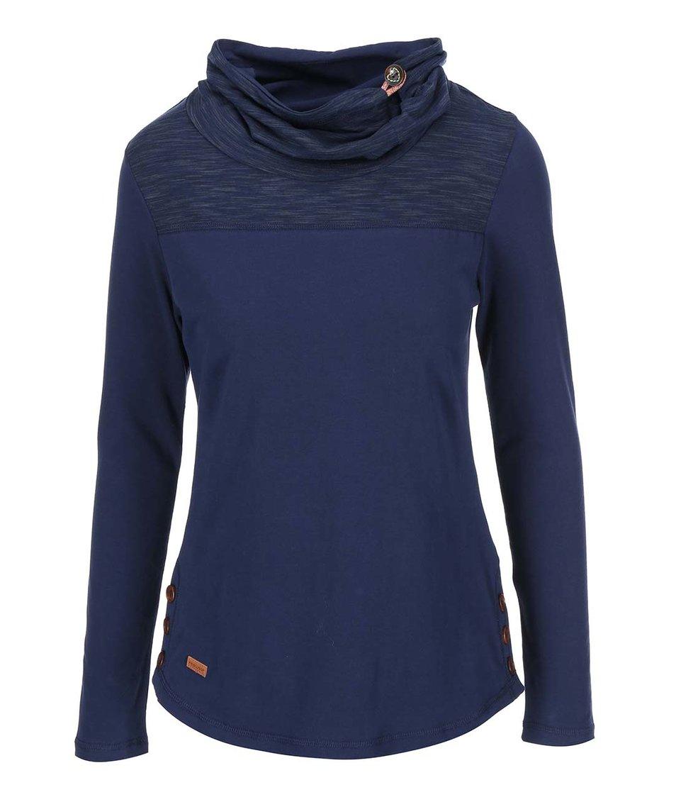 Tmavě modré dámské tričko s dlouhým rukávem Ragwear Willow
