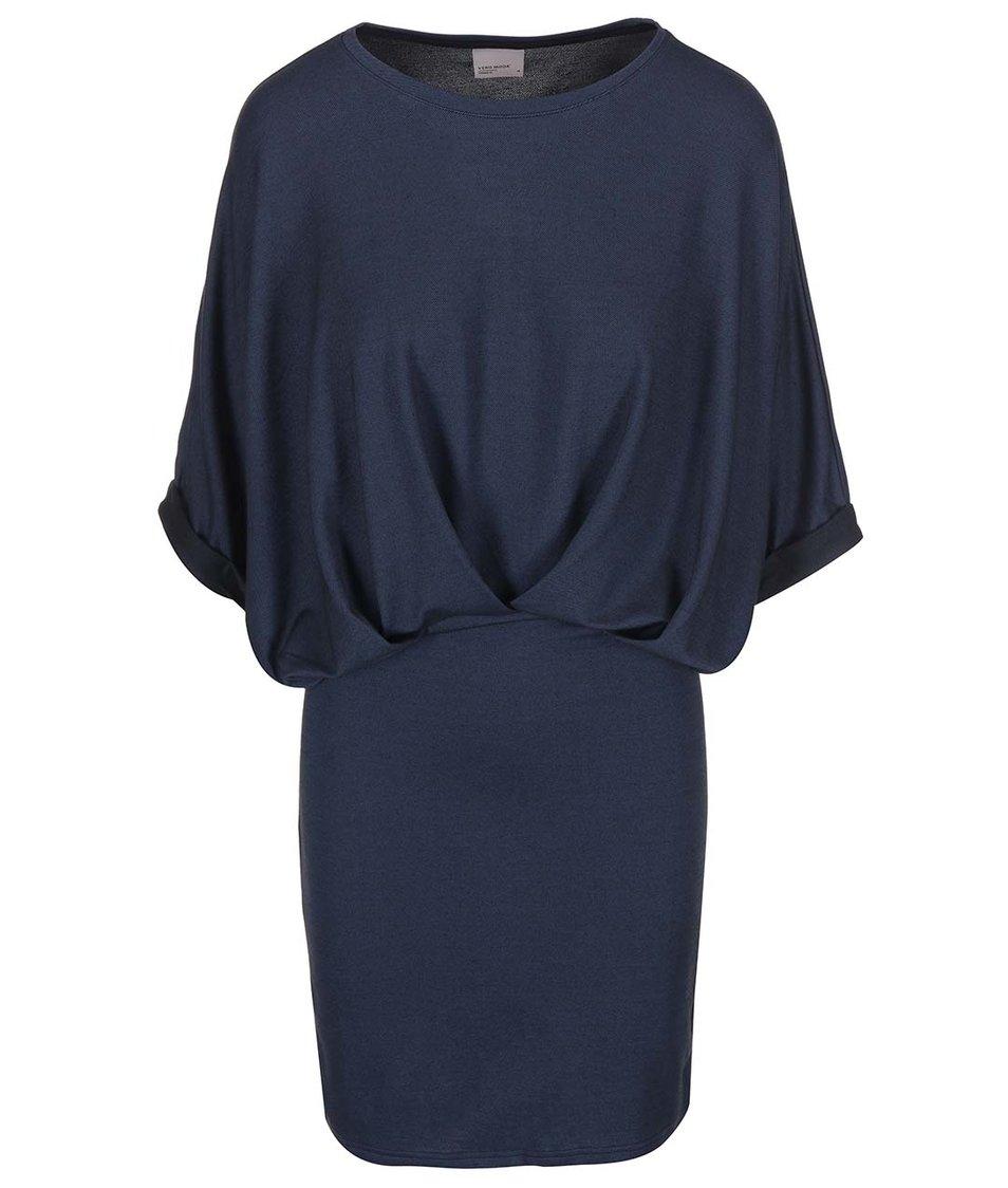 Tmavě modré šaty Vero Moda Twilli