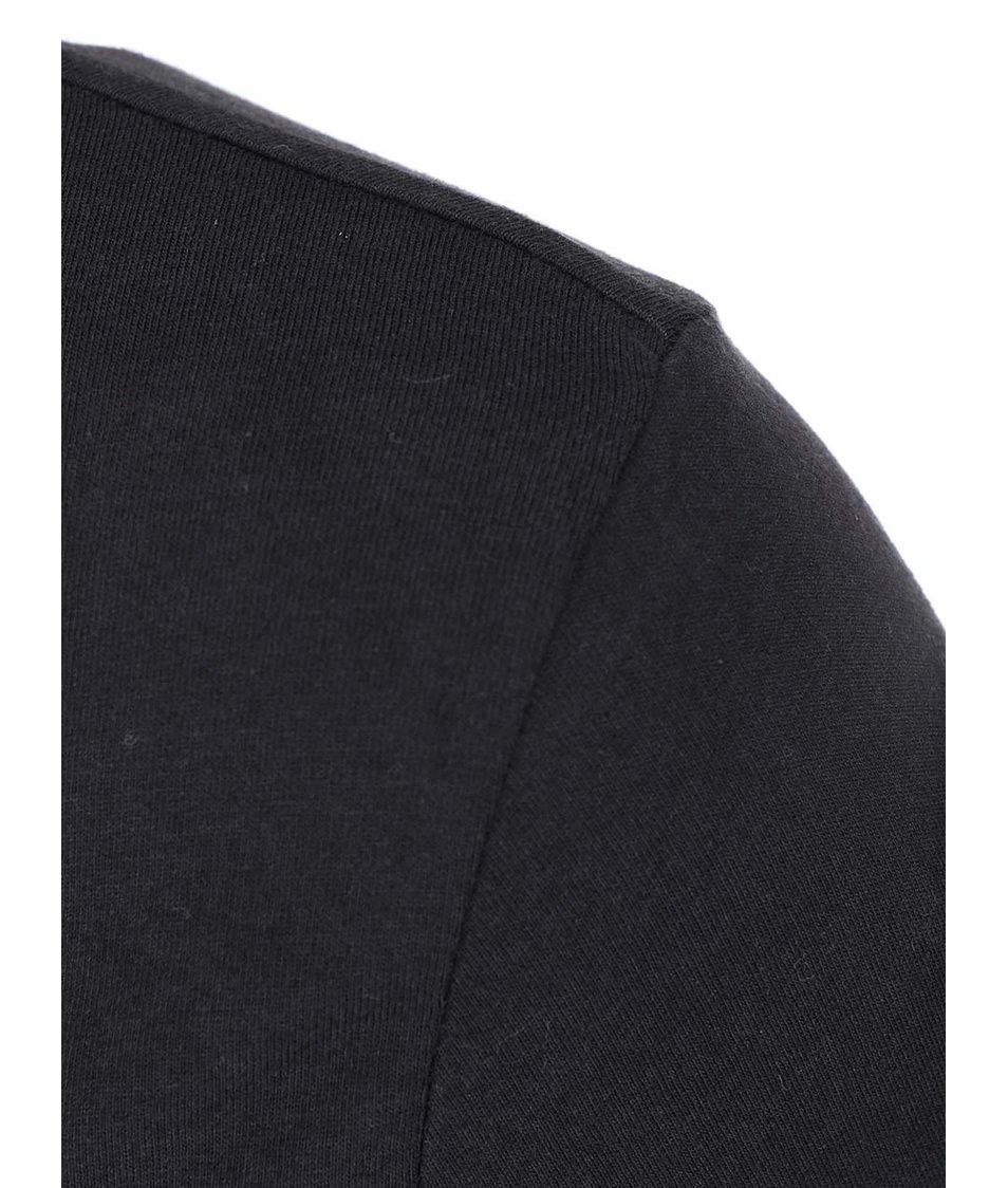 Černý top s dlouhým rukávem Vero Moda Grace