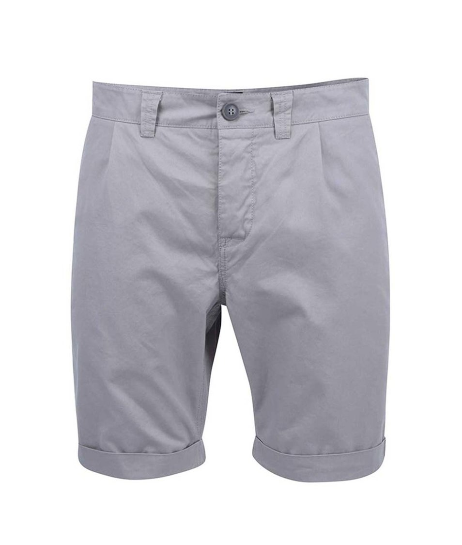Šedé chino kraťasy ONLY & SONS Hedde