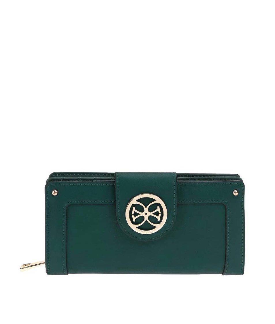 Zelená větší peněženka Gionni Iliana
