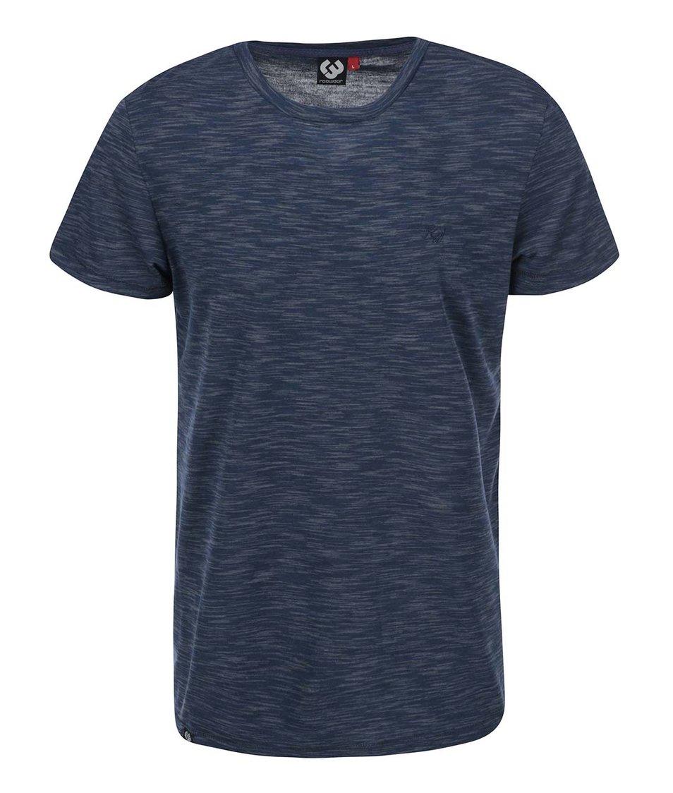 Šedo-modré žíhané pánské triko Ragwear Bate