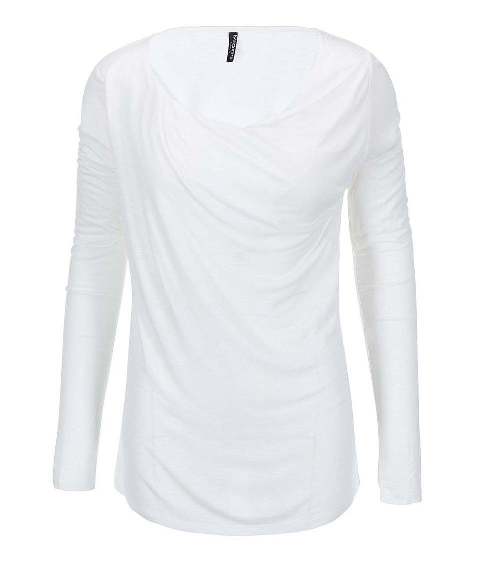 Bílé tričko s dlouhým rukávem Madonna Havalti