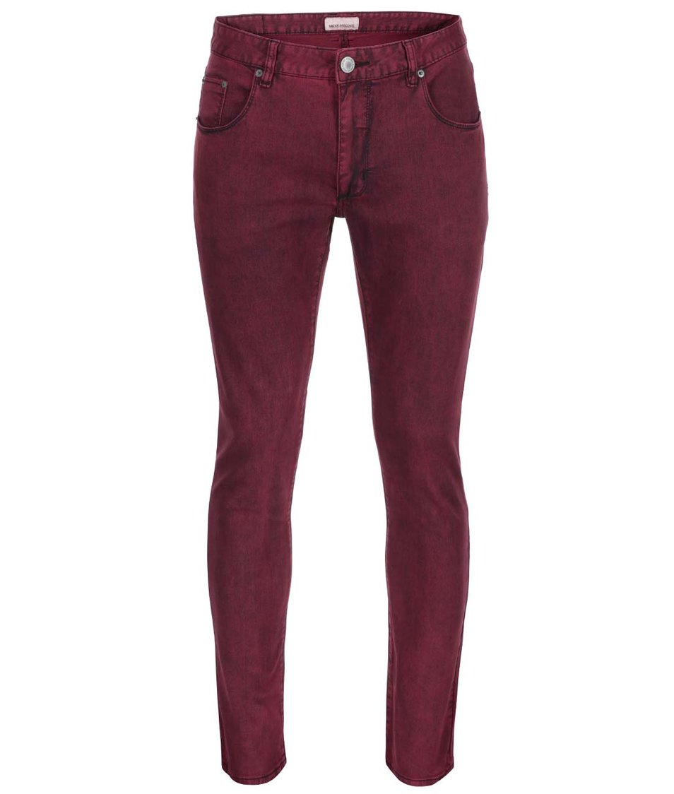 Vínové džíny Shine Original Slim Fit