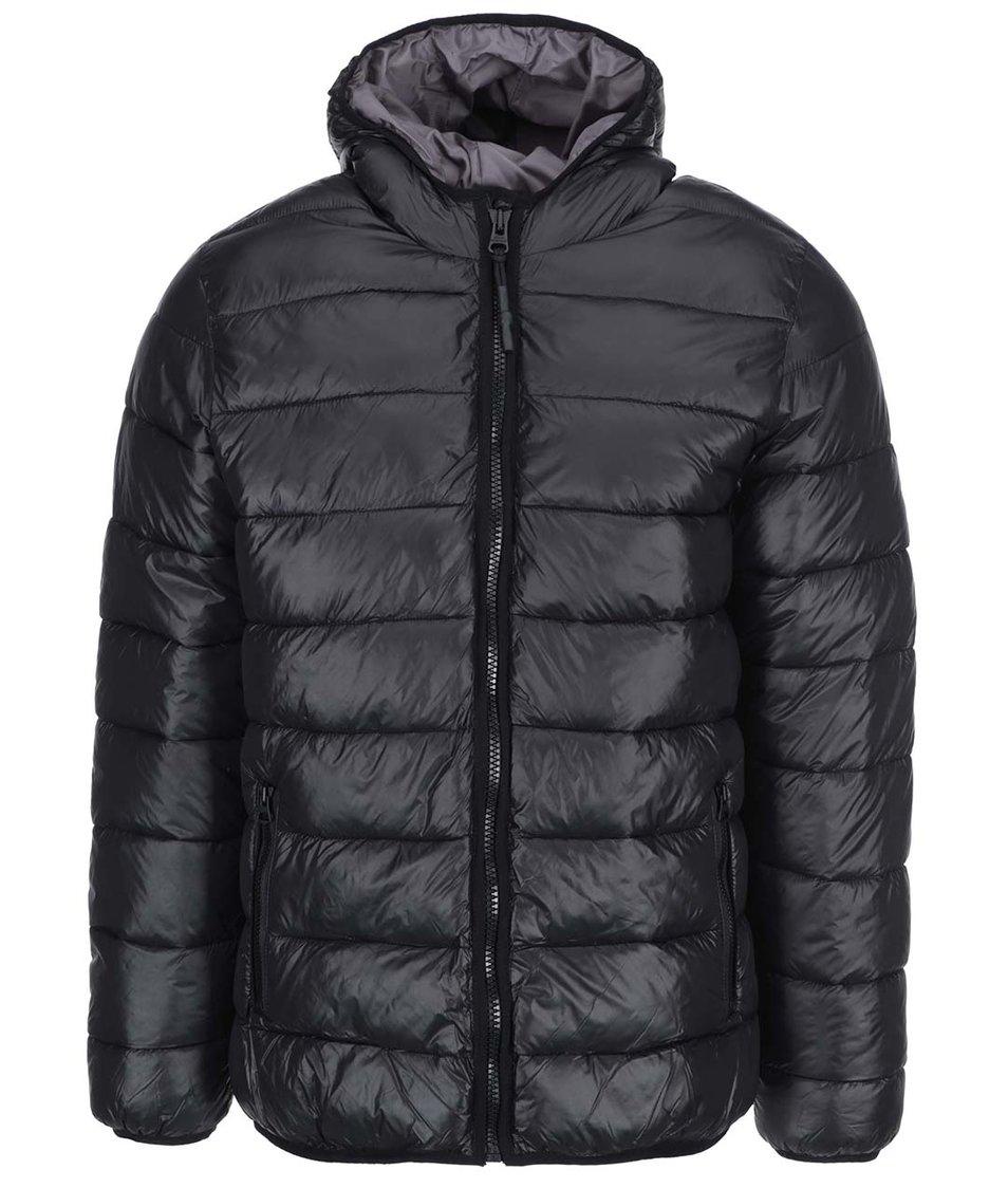 Černá bunda Shine Original Puffer