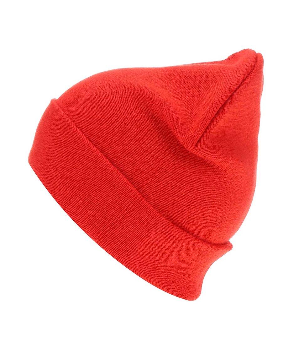 Červená čepice Shine Original