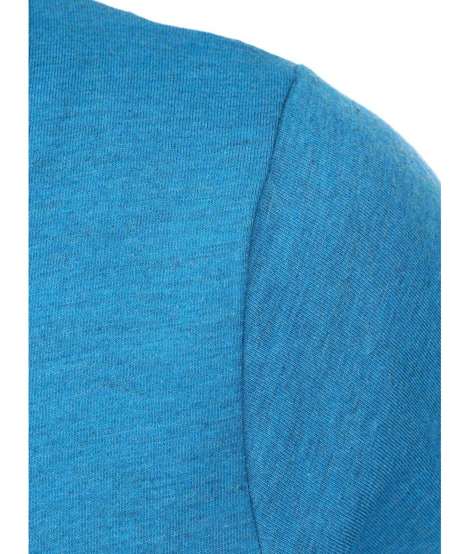 Modré dámské triko s vázáním na straně Horsefeathers Peak