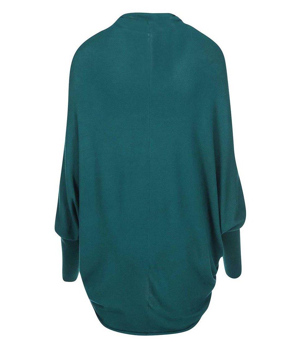 Zelený cardigan ICHI Mafa