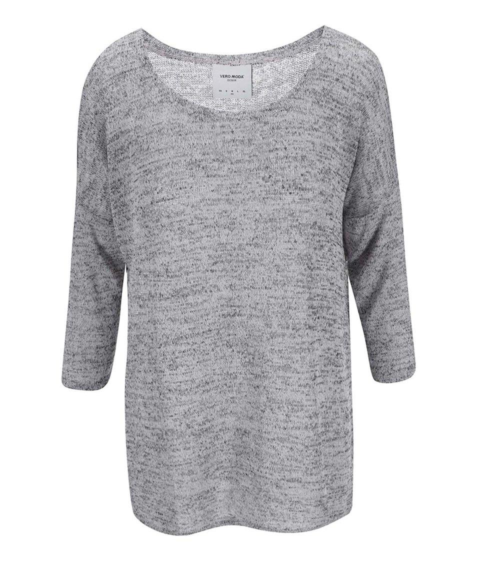 Světle šedý svetrový top Vero Moda Jennie