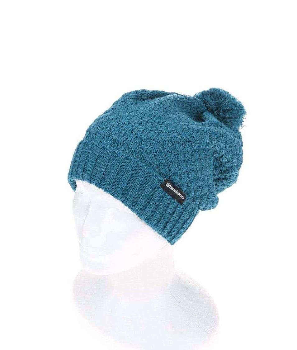 b8b7fb3cdf3 Tmavě modrá dámská čepice Horsefeathers Mabel - Vánoční HIT!