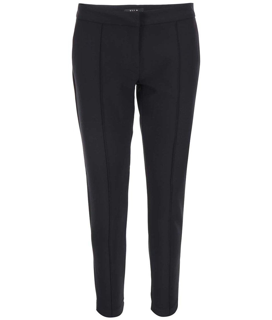 Černé kalhoty s puky VILA Perfect