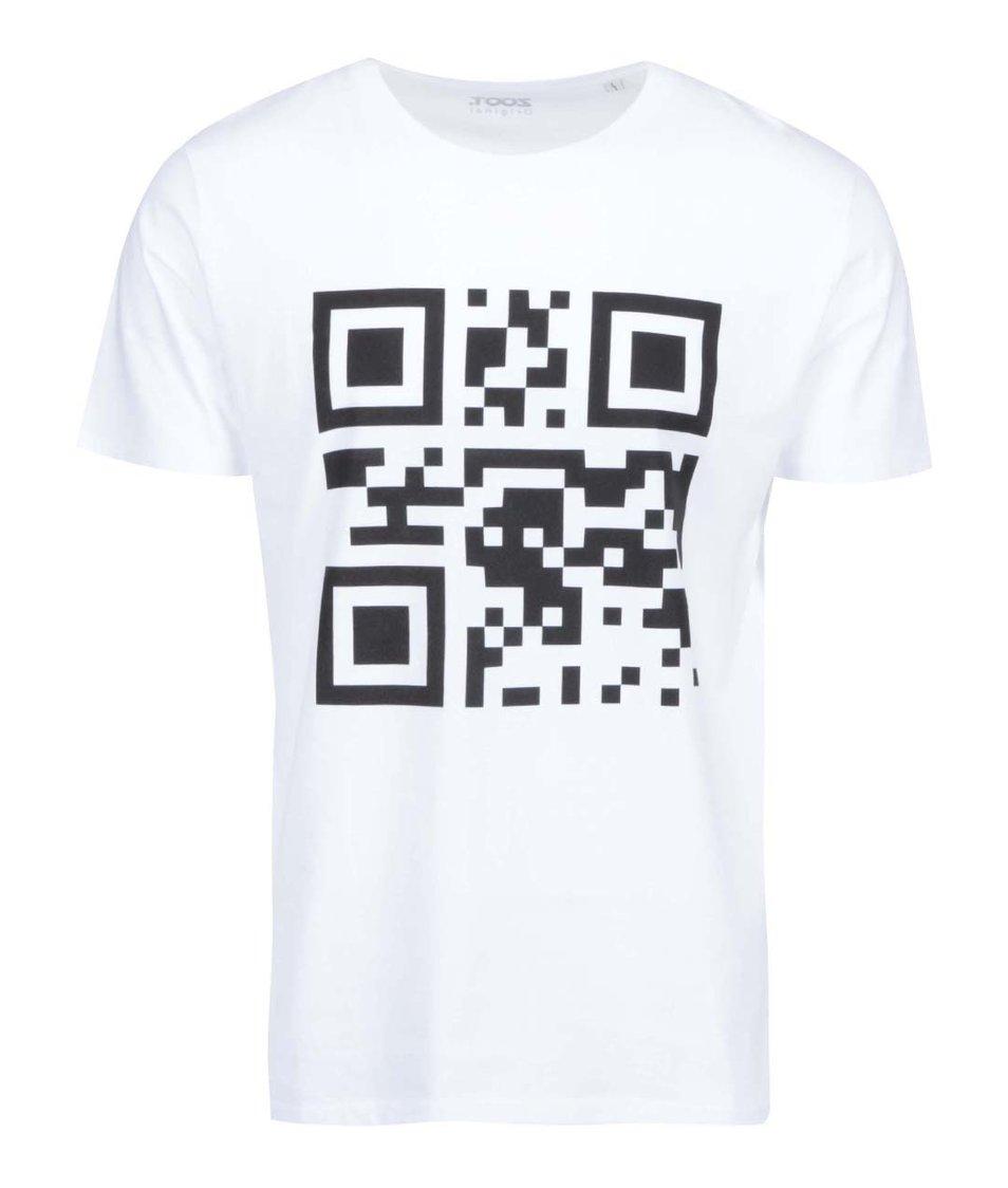 Bílé pánské triko ZOOT Originál QR kód