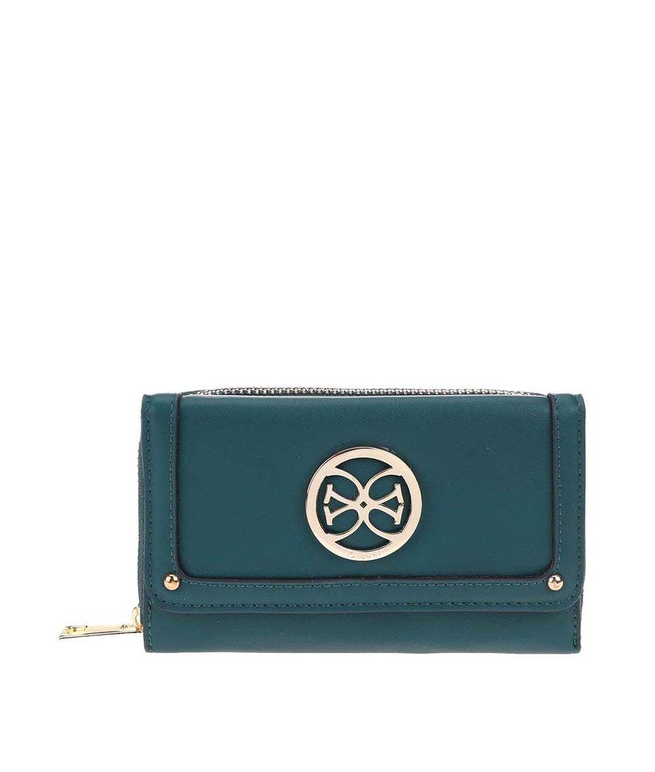 Zelená menší peněženka Gionni Iliana