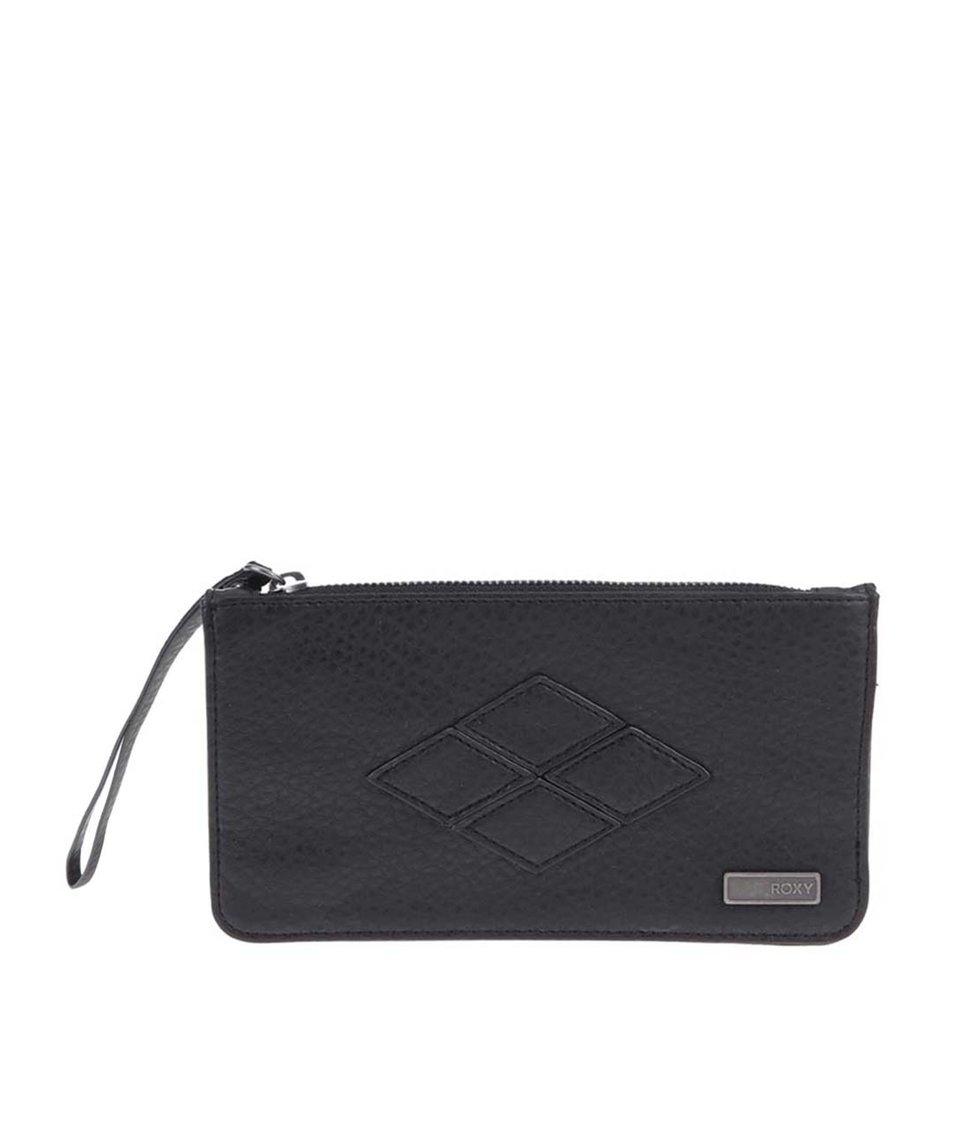 Černá prošívaná peněženka Roxy Atoll