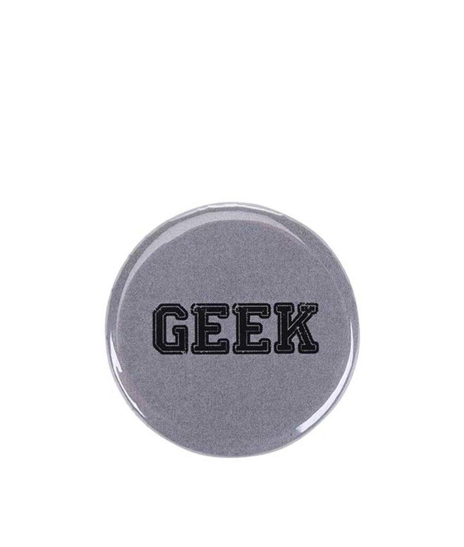 Šedá placka ZOOT Originál Geek