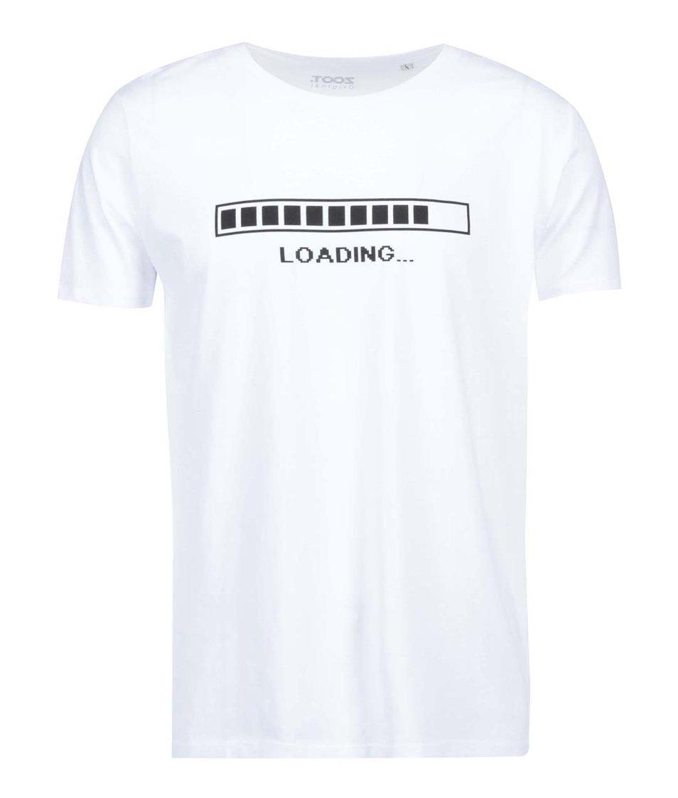 Bílé pánské triko ZOOT Originál Loading