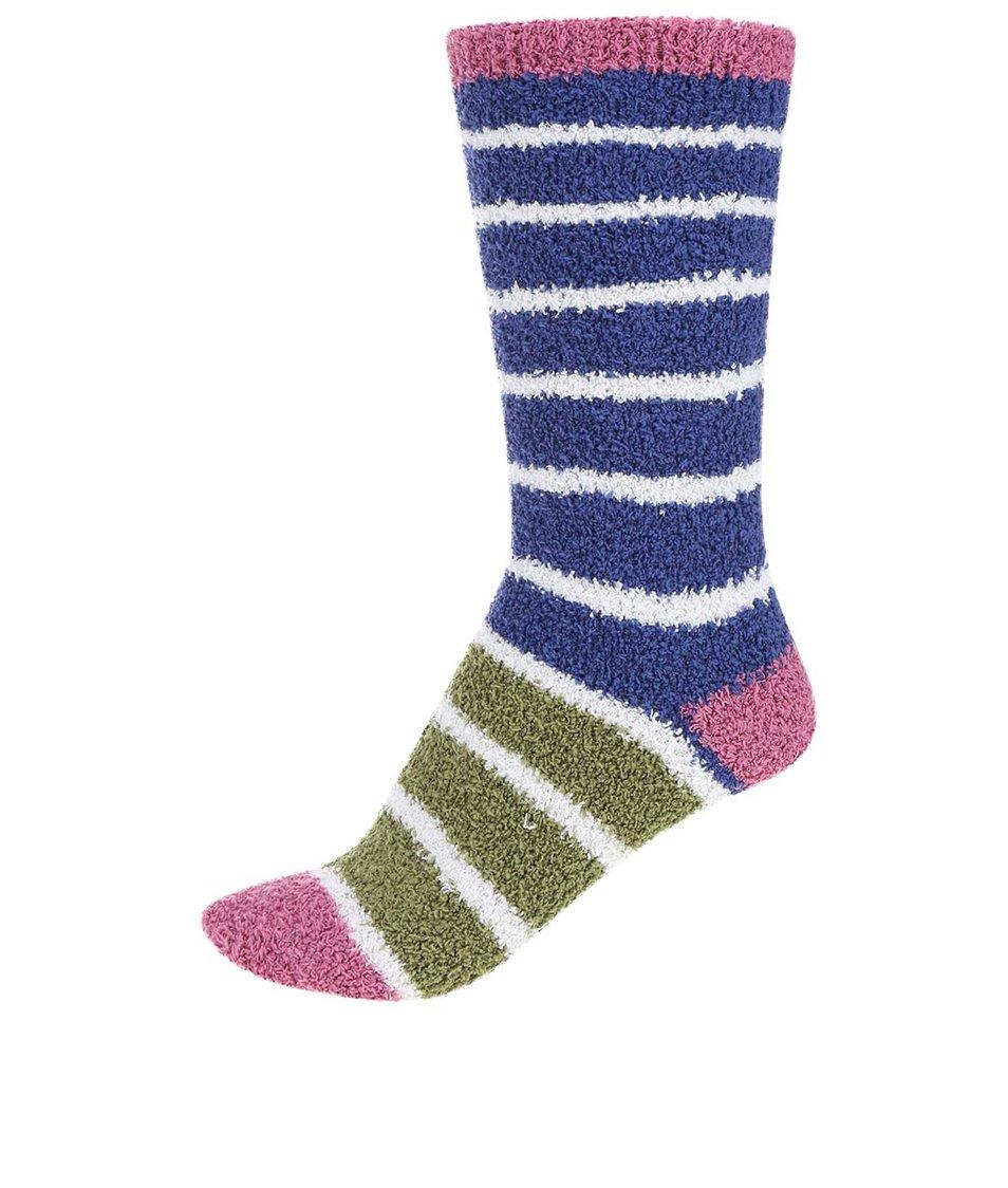 Zeleno-modré dámské teplé ponožky Braintree Willoemi