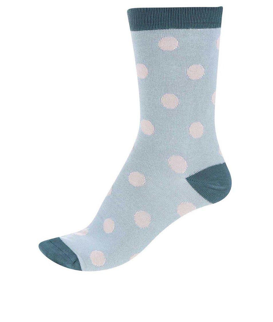Tyrkysové dámské bambusové ponožky Braintree Kolet Spot