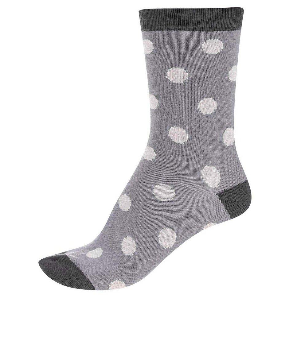 Šedé dámské bambusové ponožky Braintree Kolet Spot