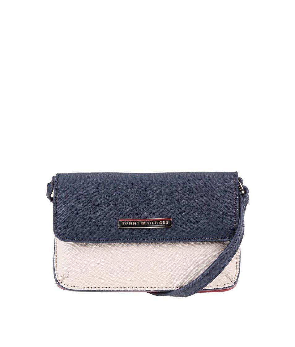 44eebdb878 Červeno-krémovo-modrá menší kabelka přes rameno Tommy Hilfiger Honey ...