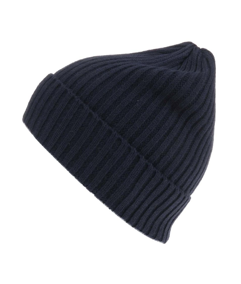 Tmavě modrá čepice Selected Jules