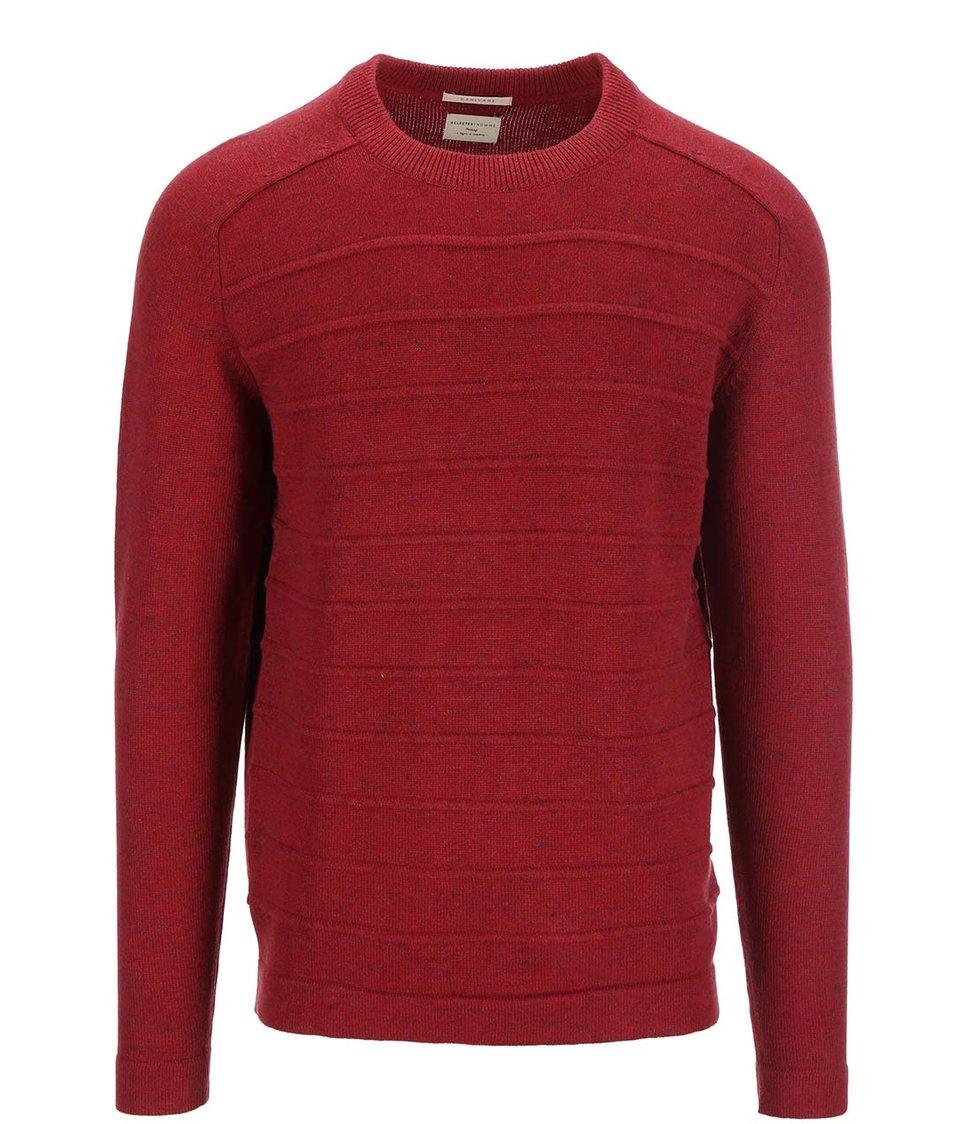 Červený svetr Selected Martin