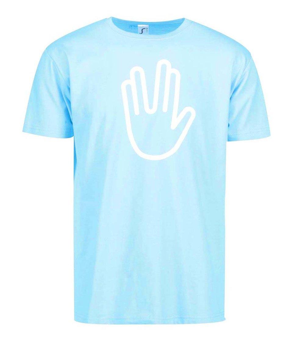 Modré pánské triko s filmovým potiskem ZOOT Originál