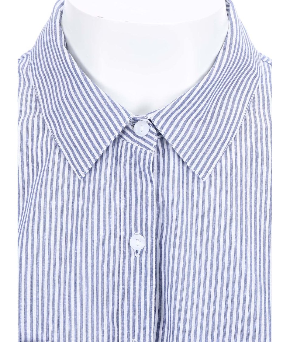Modro-bílá pruhovaná košile Dorothy Perkins