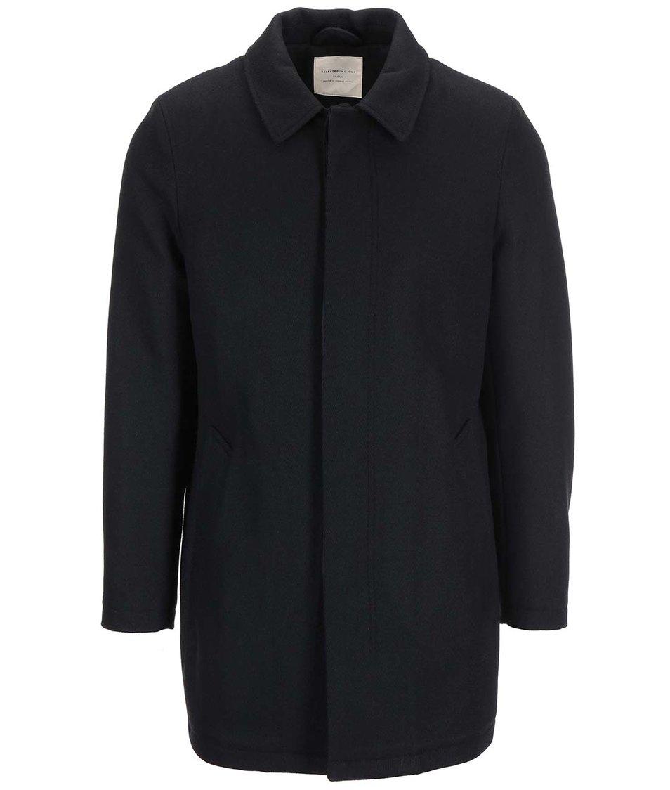 Černý kabát Selected Ray
