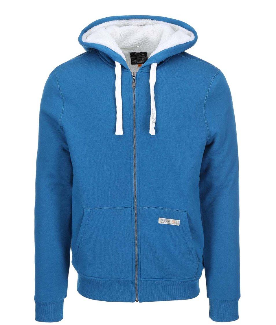 Světle modrá mikina na zip Blend