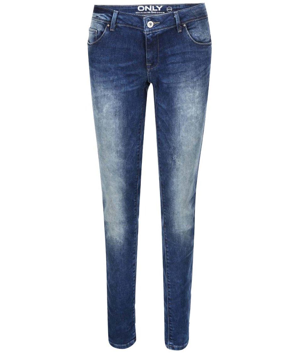 Modré skinny džíny ONLY Coral