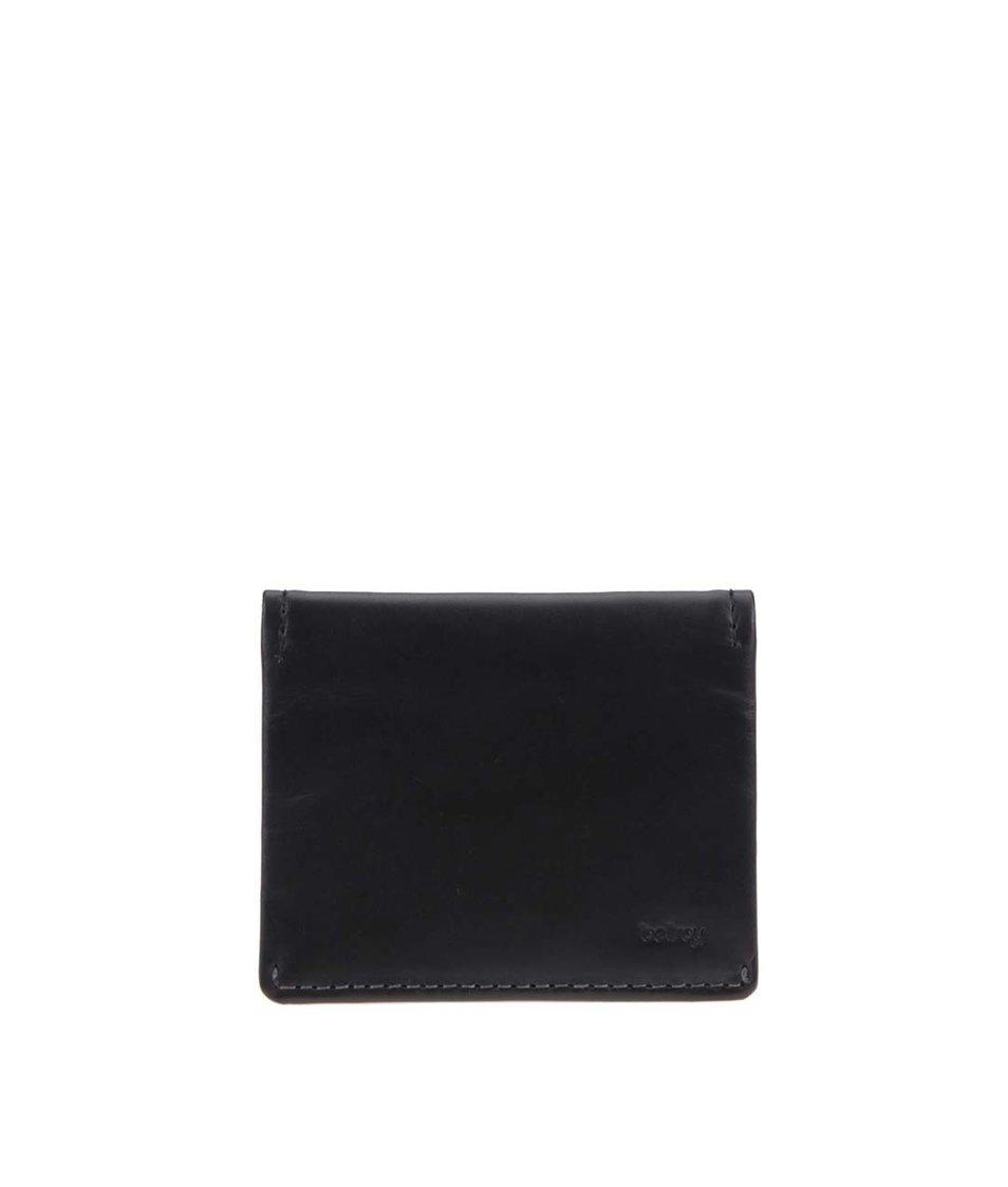 Černá kožená peněženka Bellroy Slim Sleeve