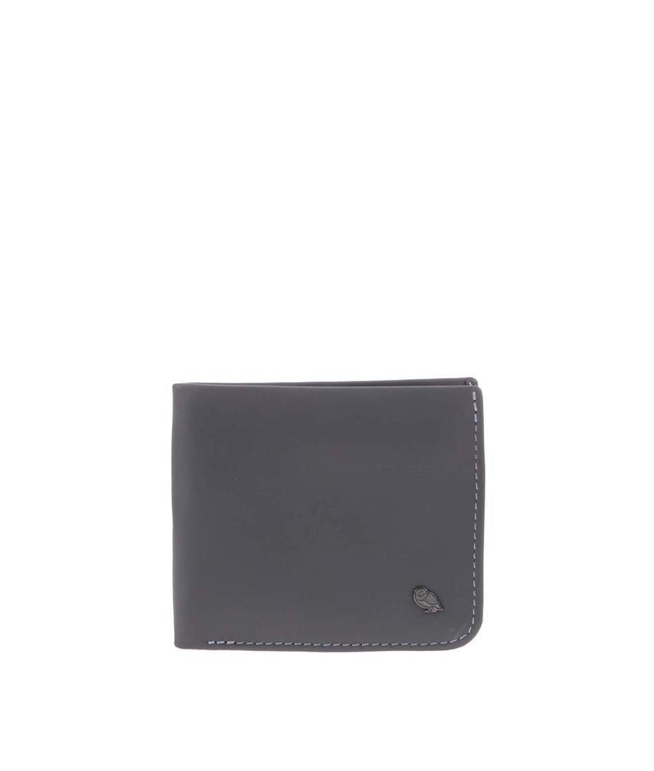 Šedá kožená peněženka Bellroy Hide & Seek