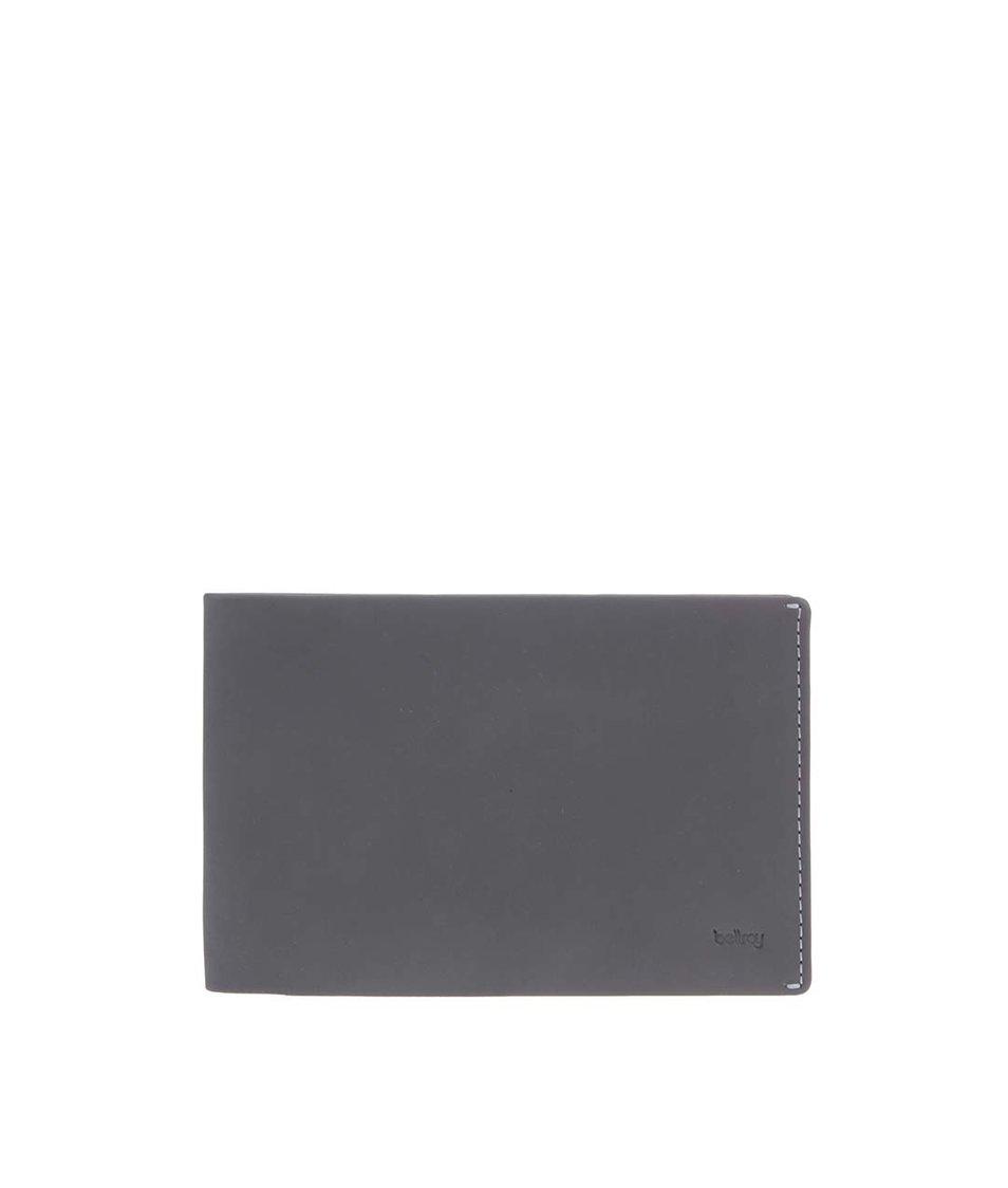 Šedá kožená cestovní peněženka Bellroy Travel