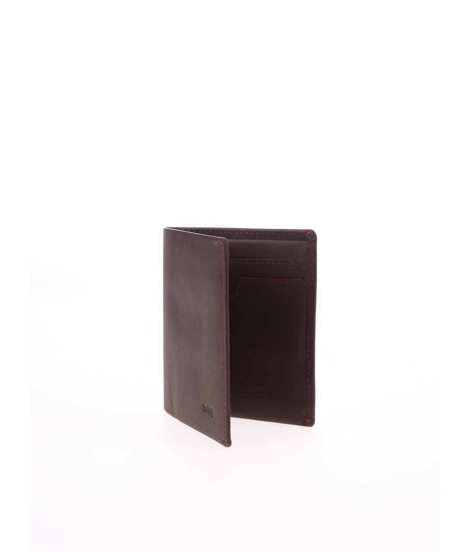 Hnědá kožená peněženka Bellroy Note Sleeve