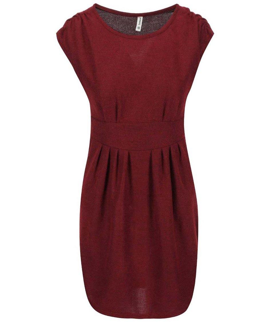 Červené šaty Lavand