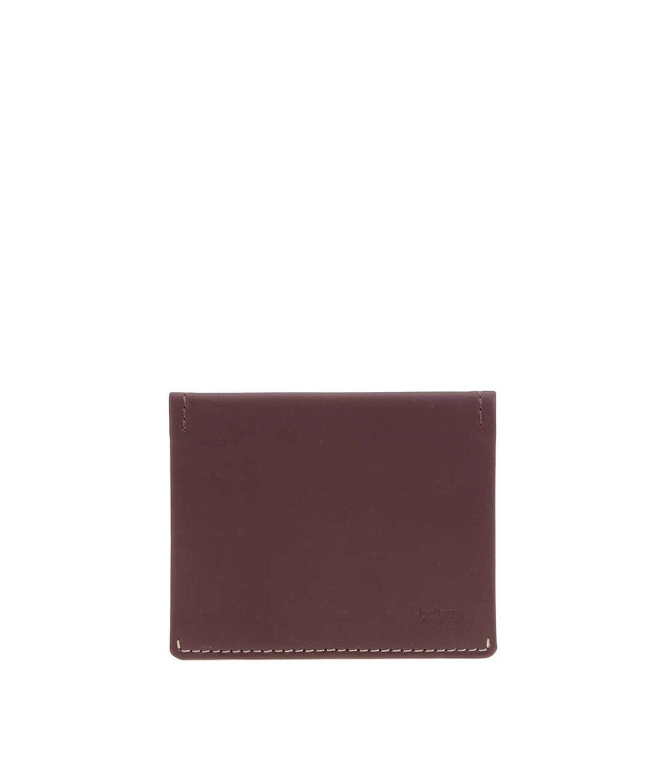 Hnědá kožená peněženka Bellroy Slim Sleeve
