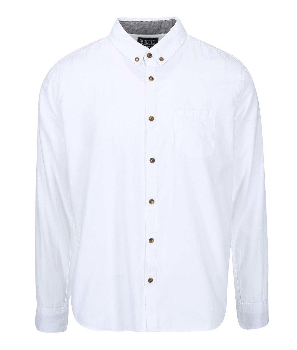 Bílá košile D-Struct Calcutta