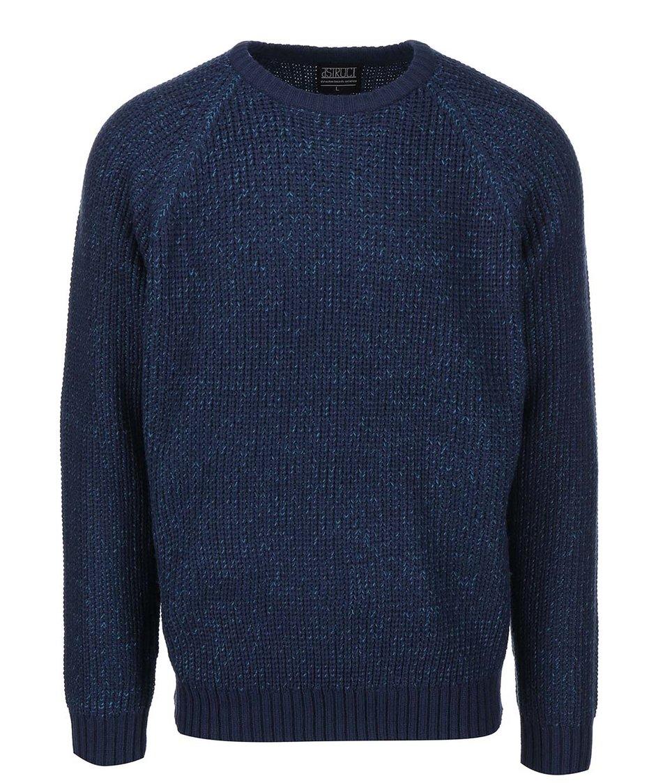 Modrý svetr D-Struct Gaman