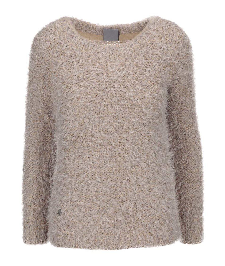 Béžový svetr Vero Moda Elsie
