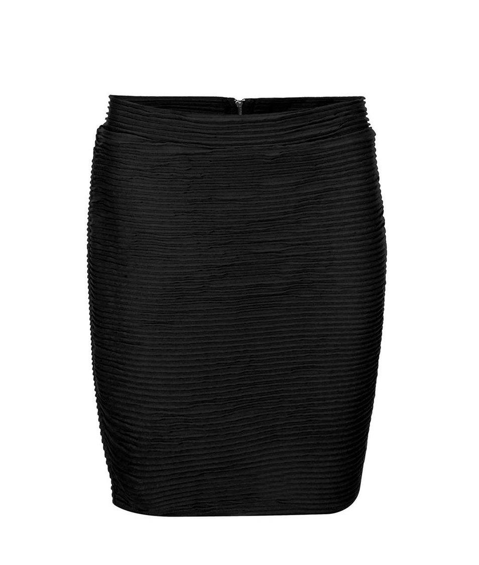 Černá sukně se zipem ONLY Corrine
