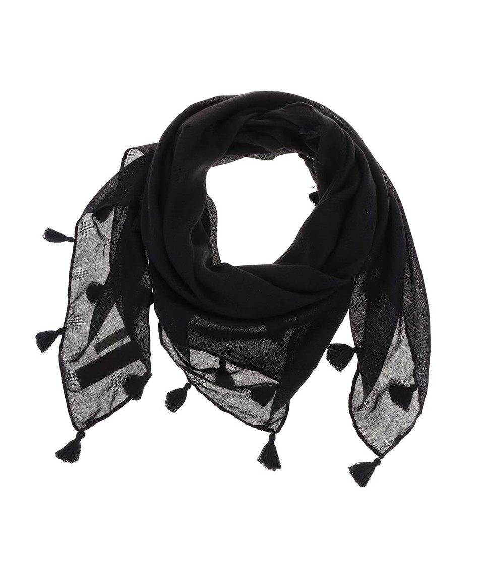 Černý šátek Pieces Venus