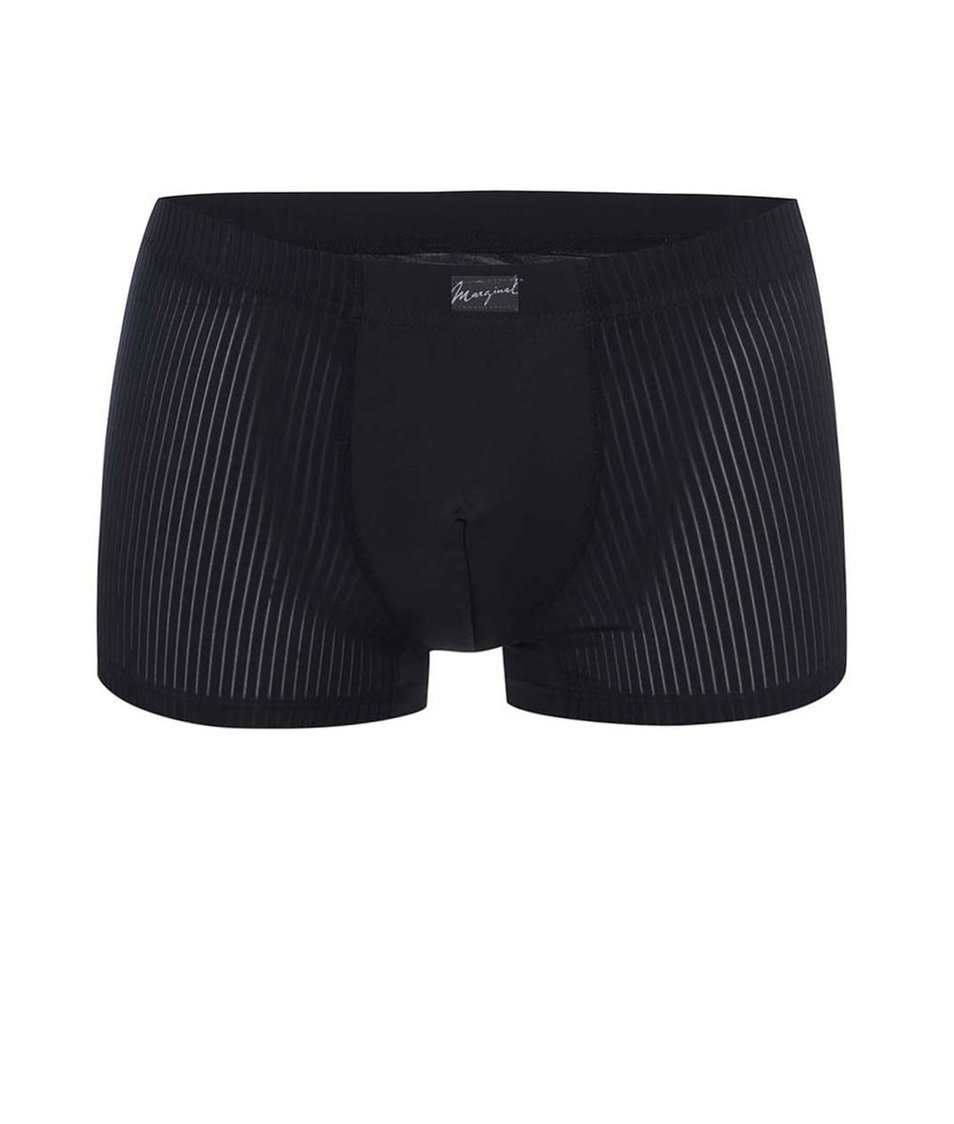Černé vzorované boxerky Marginal