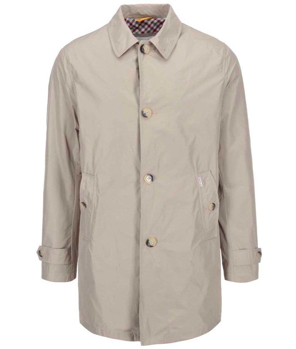 Béžový kabát Ben Sherman