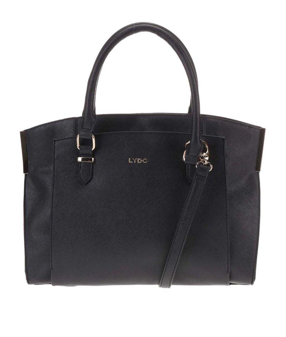 Černá velká kabelka LYDC