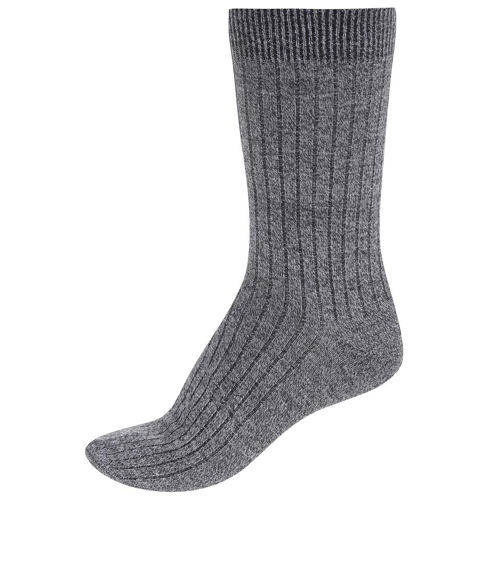 Šedé ponožky Jack & Jones Mouline