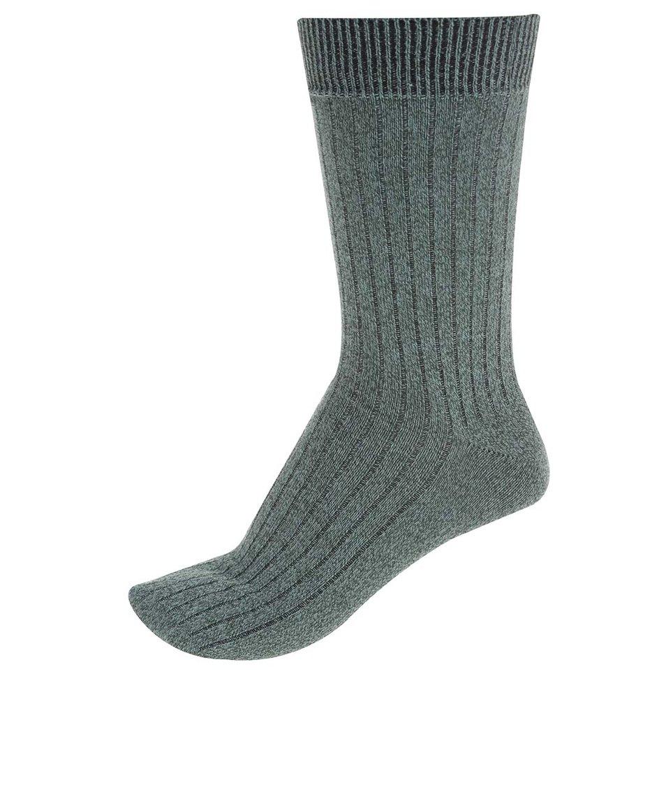 Zelené ponožky Jack & Jones Mouline
